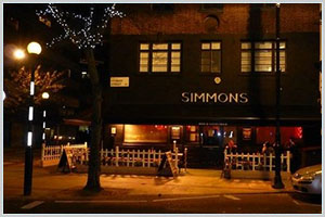 Simmons Bar Euston Square